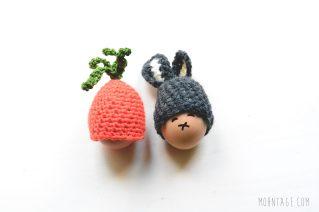 Moehre und Hase fuer den Osterbrunch