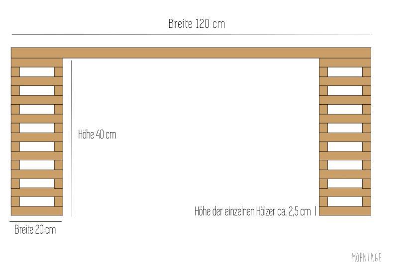 DIY Balkonsofa Bauanleitung