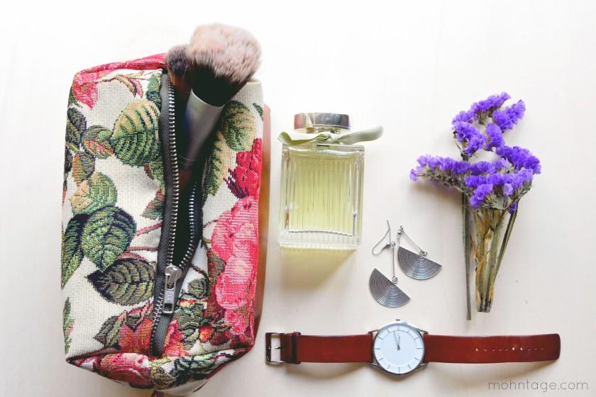Kosmetiktasche Schnittmuster - Box zipper pouch pattern 3