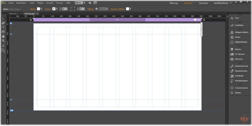 Blog-Relaunch-Adobe-Muse-Neue-Seite-Entwurf-Ansicht
