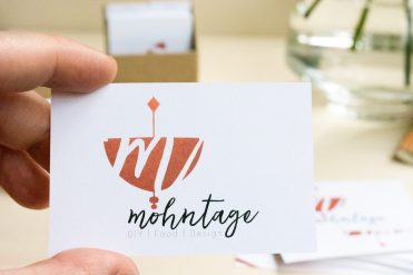 Visitenkarten-DIY-Business-Cards-How-to-Mohntage-Blog-Hand
