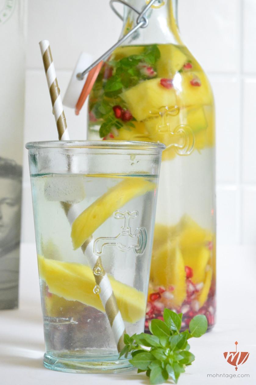 infused-water-mango-granatapfel-basilikum-erfrischung-sommer-rezept-mohntage-titel