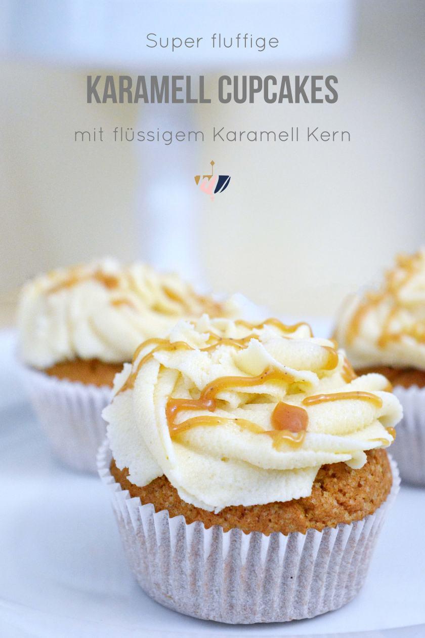 Karamell-Cupcakes-mit-fluessigem-Karamell-Kern-und-Karamell-Cream-Cheese-Frosting-Rezept-Partyfood-Mohntage-Blog-Pinterest-4