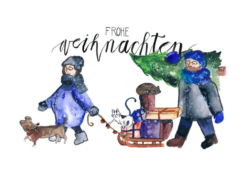 Illustration-Weihnachtskarte-Mohntage-Freebie-1