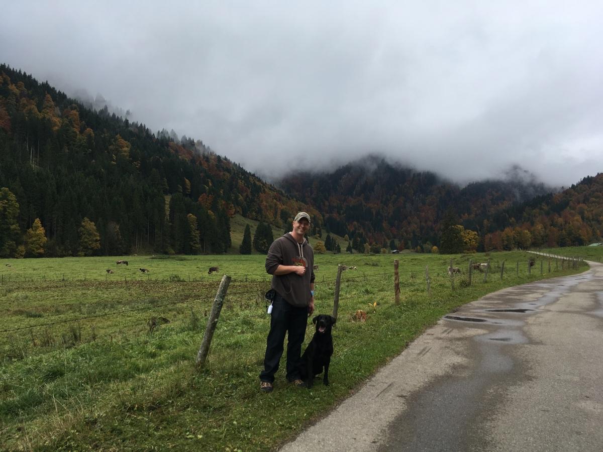 Leben mit Posttraumatischer Belastungsstörung braucht Mut - Das neue PURINA-Team Chris & Braveheart